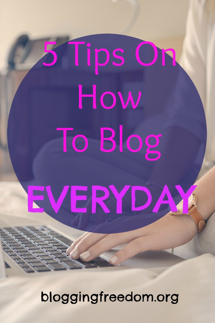 Check out these great tips no how you can build a blogging habit!