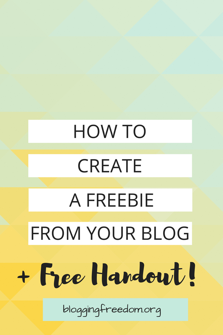 Want a giveaway for your loyal readers? Here are the best tips to create a freebie!