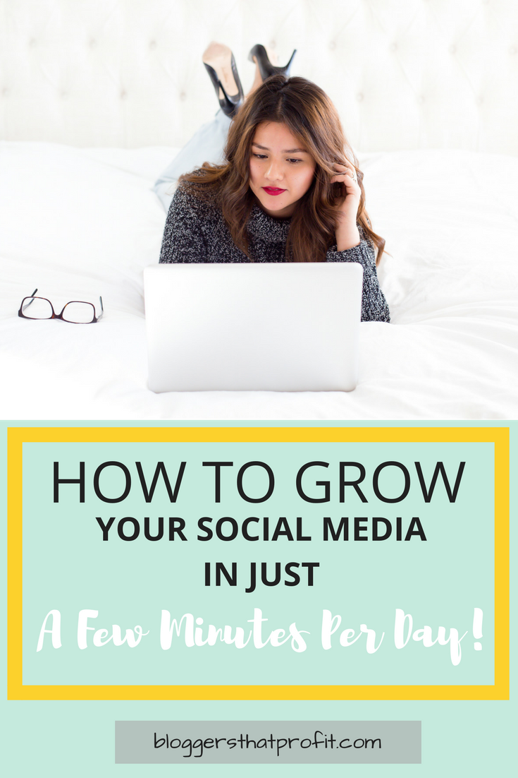 Need to grow your social media fast? Find out how to n just a few minutes per day!