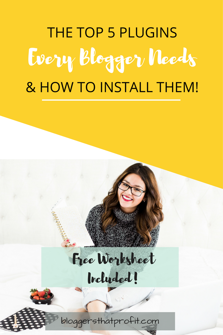 Looking to enhance your website to improve its online presence? These are the tops 5 plugins every blogger needs and tips to install them!