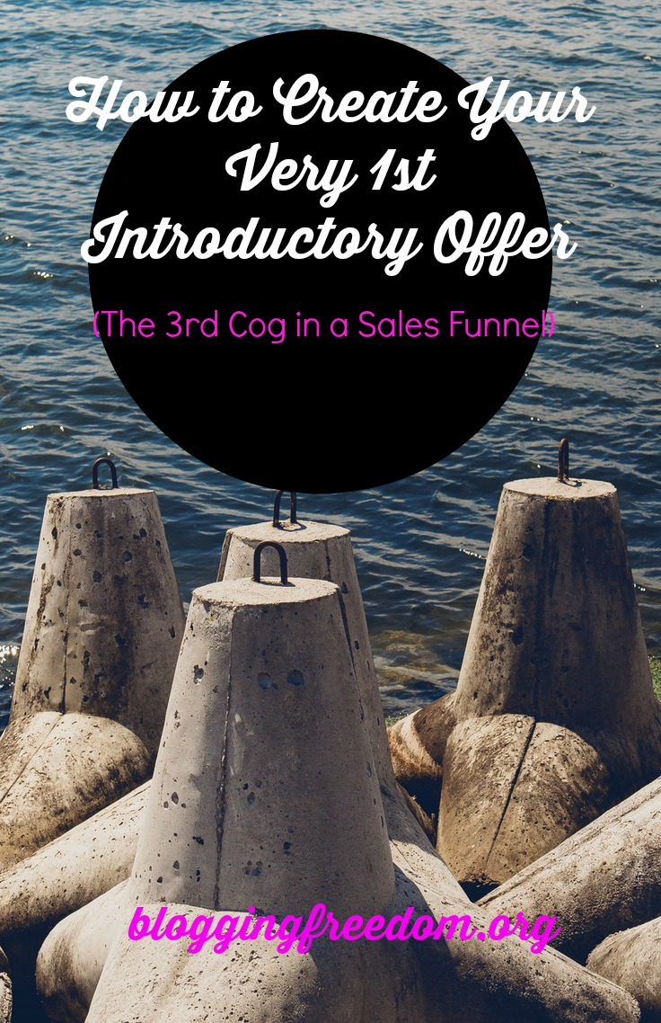 How to create an introductory offer for your blog.