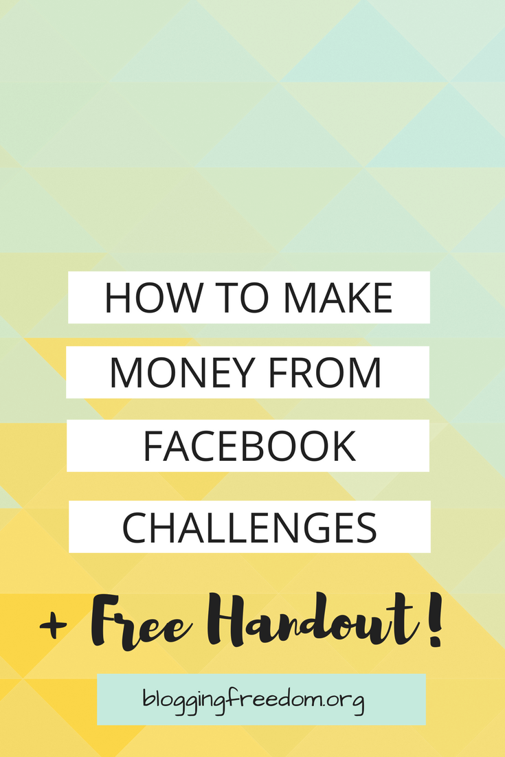 Do you have a Facebook group and want to make it grow? Turn your challenges around and find out how to make money with your group!