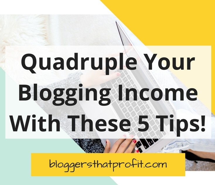 Start making money from your blog with these 5 tips.